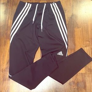 Adidas youth soccer pants, size L OR women's S